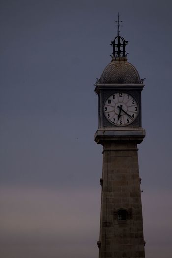 Clock Time Clock Tower Architecture No People Clock Face Built Structure Sky Roman Numeral Outdoors Building Exterior Minute Hand Day Nature Hour Hand
