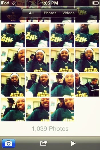 Me and Shakia fooling around in accounting ☺