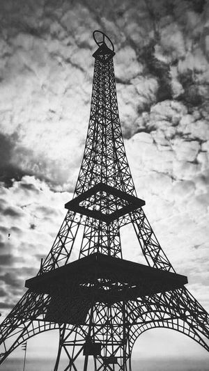 Toureiffel Eiffel Tower SaintHilairedeRiez Noir Et Blanc Blackandwhite Black And White