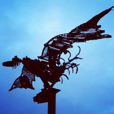 Sculpture by Odo Rumpf (Odonien) #koeln #cologne #streetart #instawalkxmas12 #igerscologne Streetart Cologne Koeln Igerscologne Instawalkxmas12