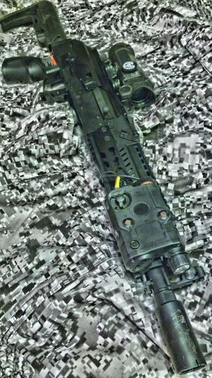 Gg air Airsoft Is My Hobbies JacksonvilleFL Airsoft Tacticalhostyle High Angle View No People Outdoors Day Work Tool