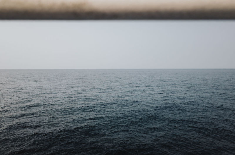 Tranquil ocean scene Water Sea Scenics - Nature Beauty In Nature Tranquil Scene Tranquility Horizon Horizon Over Water Nature Sky Day No People Waterfront Idyllic Clear Sky Seascape Non-urban Scene Outdoors Rippled Ocean Ocean View Tranquility