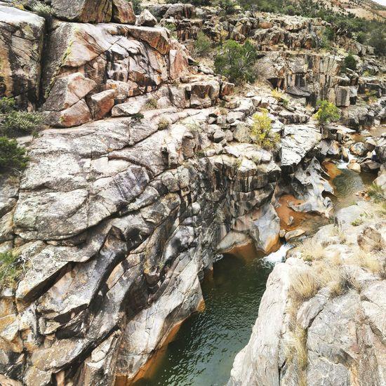 Creek Potholes Rock