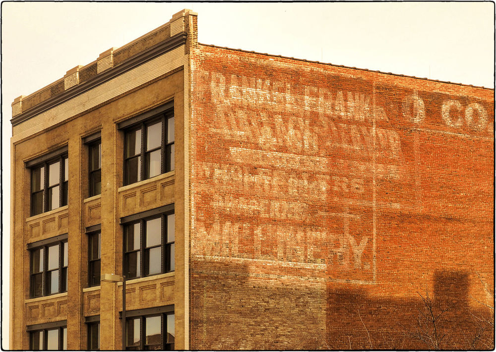 MAGICAL MILLINERY MEMORIES ~ Kansas City, Missouri It Was Only A Dream Ghost Signs  Urban Landscape Divelandscape, Divestreetoghrophy, Cityscape,