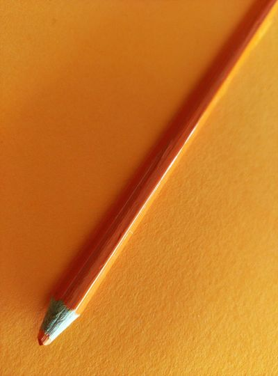 Orange By Motorola Orange Pencil Object Simplicity Minimal Minimalism Minimalobsession Closeup Color Palette