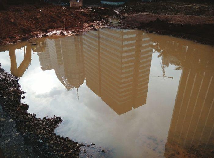 under muddy water Reflection Civilengineeringlife Meizum2 Morning