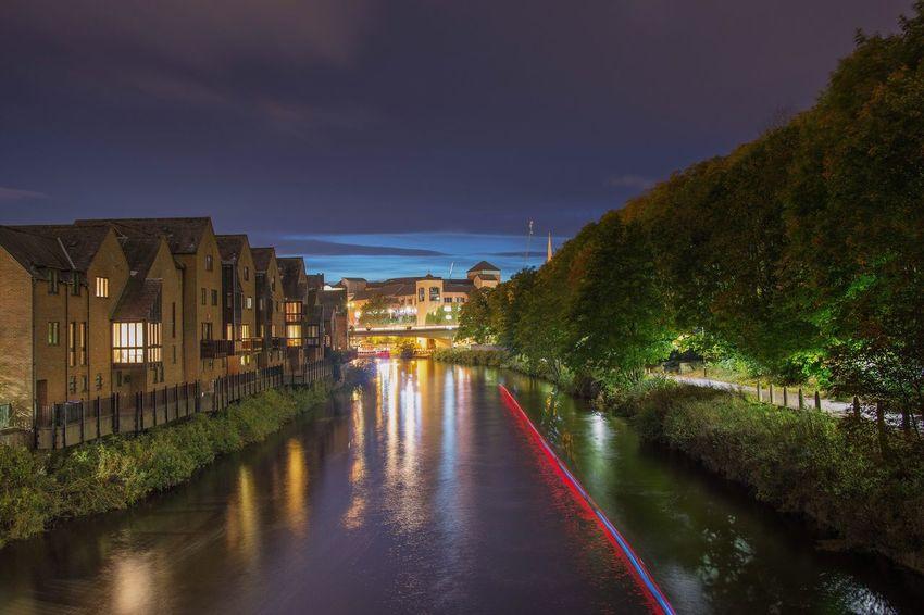 Durham City Riverscape Nightphotography Nikon Longexposure Nikonphotographer Nikonphotography Light Trails Night Shot