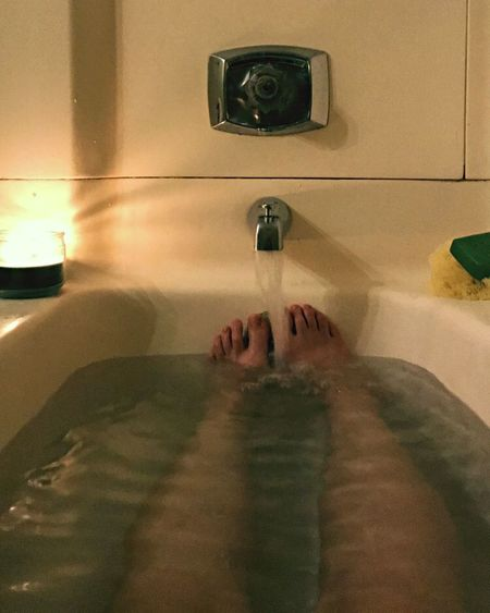 Domestic Bathroom Indoors  Bathroom Human Body Part One Person Domestic Room Washing