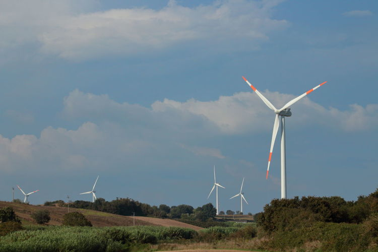 Viterbo Turbines Wind Clean Sky Green Italy Energy Lazio Ecological Ecology Passion Beautiful Landscape Power Nature Life Action Air Photography Windmill Serrated Wind Turbine Wind Power Tree Technology Power Station Electricity Pylon Alternative Energy Electricity