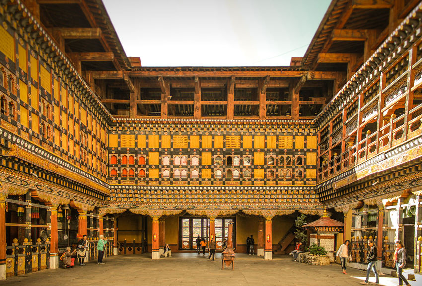 Rinpung Dzong, Paro, Bhutan Architecture Built Structure Arts Culture And Entertainment Gold Colored History Gold Outdoors Wood Carving Art And Craft Dzong Architecture Royal Huge Structure Detailing Bhutan Bhutanese Architecture EyeEm Best Shots Canonphotography Canon700D Eyeemphotography The Week On EyeEm Canon_official The Architect - 2017 EyeEm Awards