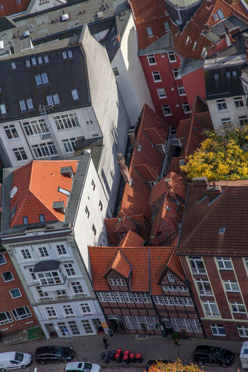 Aerial View Architecture Building Exterior Built Structure City Day No People Outdoors Roof Hamburg Krameramtsstuben EyeEmNewHere Flying High EyeEm Best Shots The Architect - 2017 EyeEm Awards
