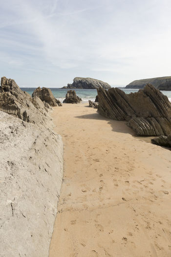 Cantabria Nature SPAIN Arnia Beach Beauty In Nature Day Landscape Nature No People Ocean Outdoors Sand Scenics Sea Sky Tranquil Scene Tranquility Water