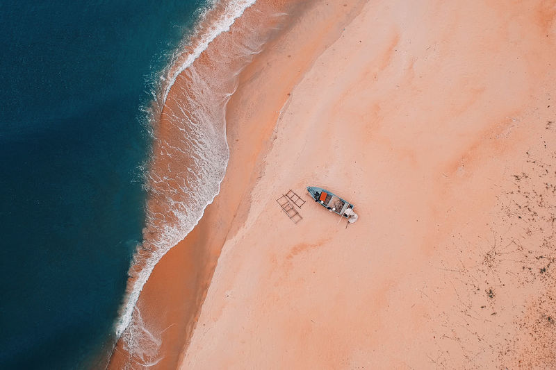 Arid Climate Beach Beauty In Nature Climate Day Desert High Angle View Holiday Land Landscape Nature Non-urban Scene Outdoors Real People Sand Scenics - Nature Sunlight Tranquility Travel Trip Vacations Water