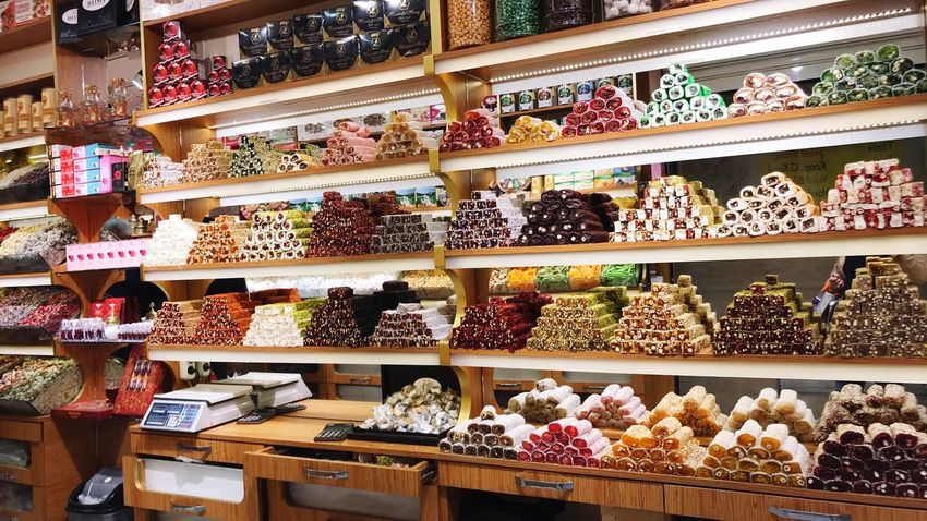 Turkisch Sweets Shop Candy Sweets Turkey