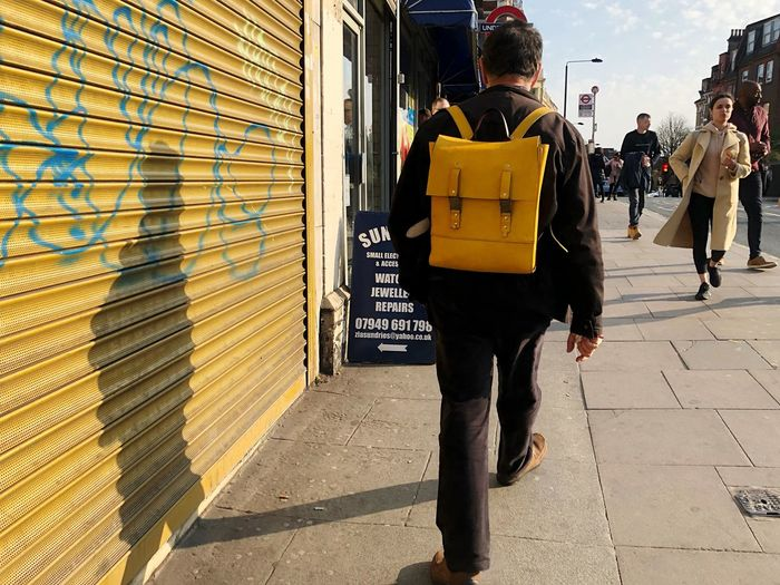 Yellow bag Uk