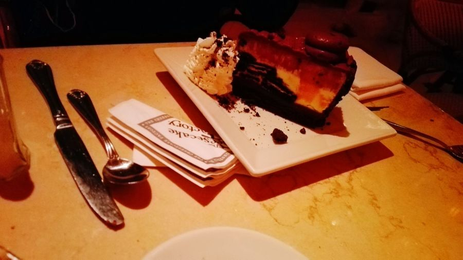 The Cheese Cake Factory The Cheesecake Factory First Eyeem Photo