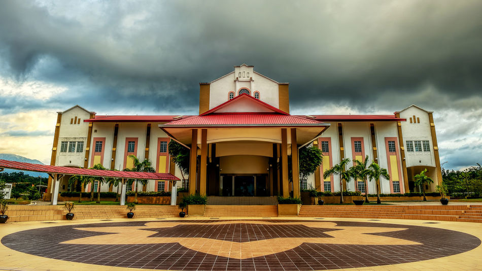Sultan Idris Educational University, Tg. Malim, Perak, Malaysia Architecture Building Exterior Built Structure Cloud - Sky Day No People Outdoors Sky Storm Cloud Upsi