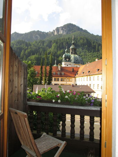 Architecture Balcony Shot Balcony View Built Structure Dome Mountain Open Door