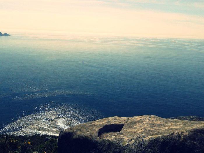 Relaxing Vigo, Galicia (España) #vigo #galicia #pontevedra #spain #españa From The Sea Nature Nature_collection Galiza