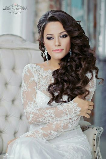 Our beautiful bride!😍 Wedding Fashion Hair Weddinghair Weddinginitaly Long Hair 👰👰