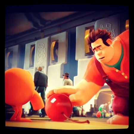 He's no bad guy. It's time for Wreck it Ralph :) Disney Wreckitralph Qbert BadGuy goodguy