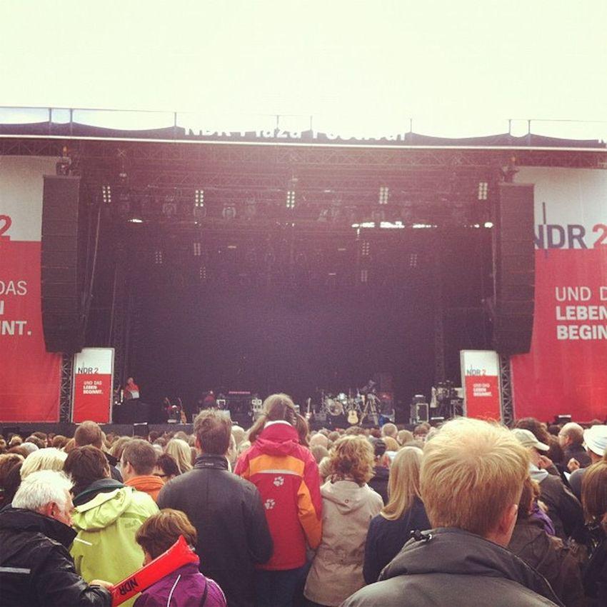 NDR Plaza festival - gleich geht's los!