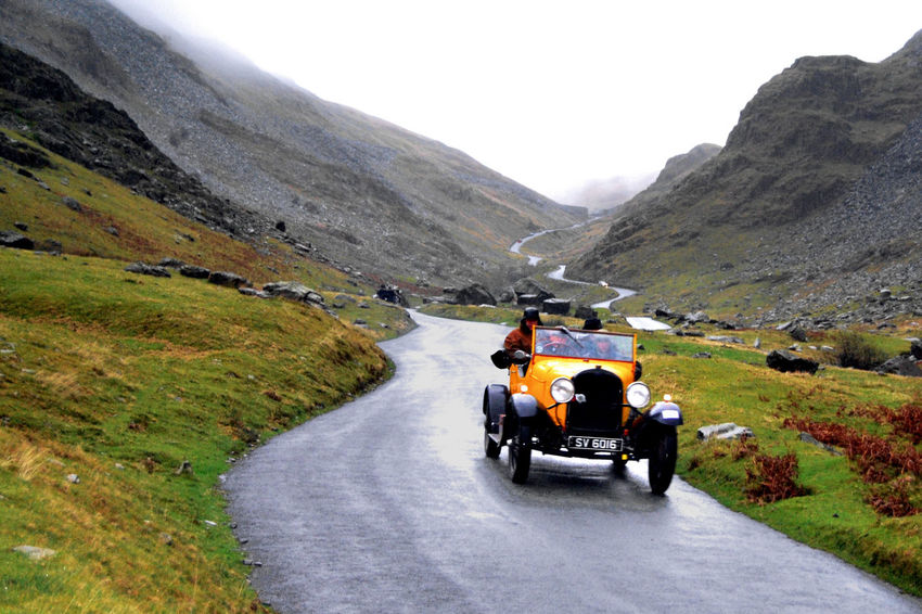 Honisterpass Mountainpass Lakedistrict Lakedistrictuk Lakedistrictnationalpark Lakes  Cumbria Classic Car Vintage Vintage Cars Car