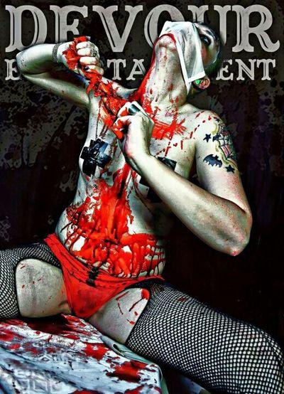 Blood Horror Gorey Devour Entertainment  Horror Erotica