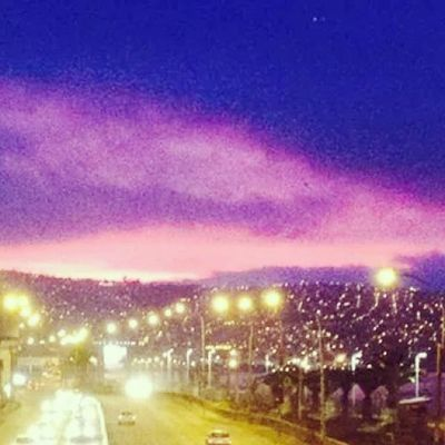 Valparaíso Chile Atardecer Lices Beautiful Màgia Magic Mar Ocean Cerros Paisaje Sol Sunny Romantico Peace Belleza Nice Cool Look Noche Pasarela Autos Buses