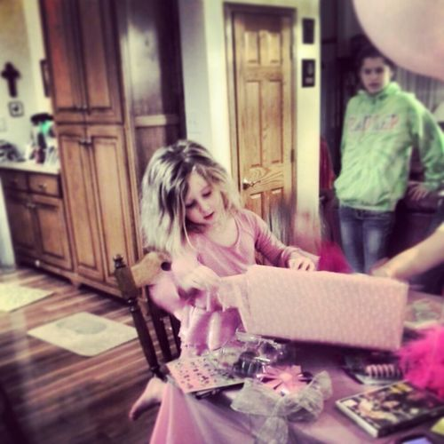 Adorable birthday girl! ♥