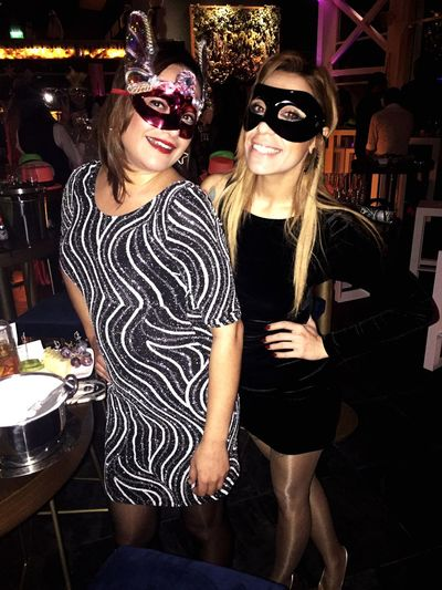 Young Women Friendship Nightlife New Year Party Party Time Enjoying Life Be Happy Smile ✌ ( Mystery 💎 ) First Eyeem Photo