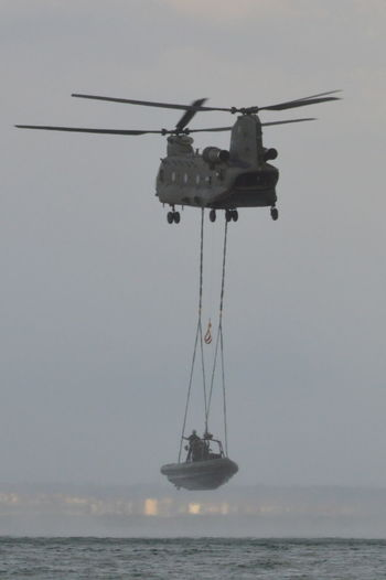Military Helicopter Water Army Service Sea Army Soldier Training Exercise Chinook British Army Royal Marines Flying Sea Rescue Soldiers Boat