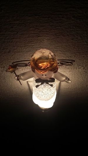 Dont turn off your light, trust in your brightness. [ Angel Lamp Angel Lamp Light Brightness ]