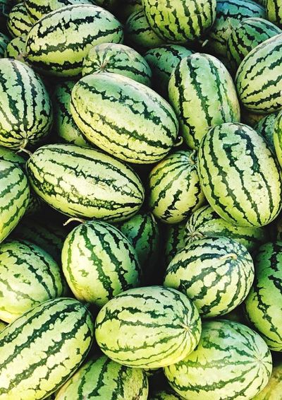 Vegetable Backgrounds Healthy Eating Food Full Frame Green Color Freshness No People Market Healthy Lifestyle Day Close-up Watermelon Fruits