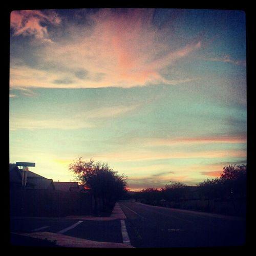 Pretty Halloween sunset