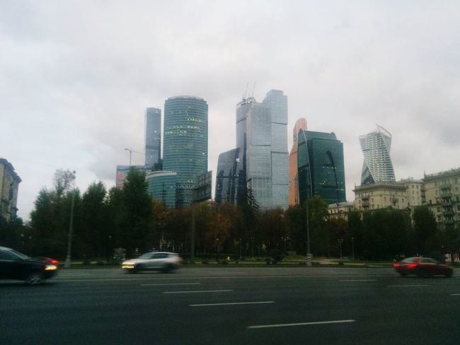 Good Morning My City Moscow City Architecture_collection Architecture Cold Darkness Grey Sky Grey Morning