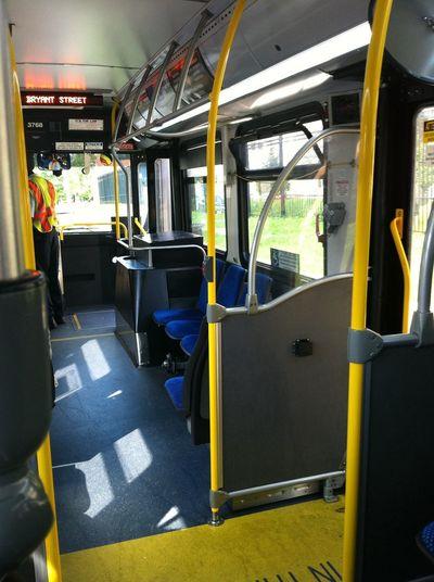 Boarding at Metro Bus Stop #1001776 Boarding