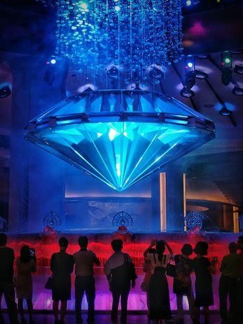 fortune diamond Galaxy Macau Diamond Fine Art Photography Showcase July Carnival Crowds And Details