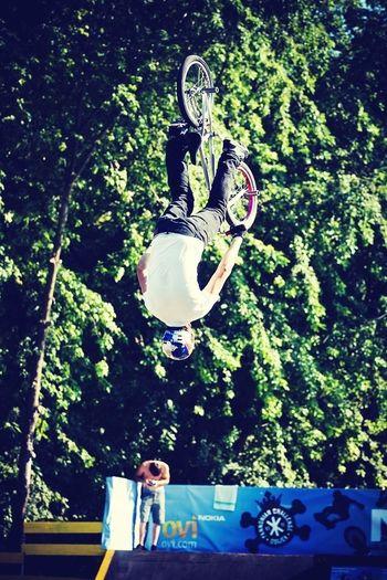 Backflip at Pannonian Challenge BMX Contest Bmx  Pannonian Pannonian Challenge