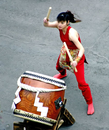 Drummer Girl Japanese Ceremonial Drums Adult Adults Only Beautiful Woman City Cruise Destination Day Full Length Kagoshima,japan Musician One Person One Woman Only One Young Woman Only Only Women Outdoors People Portrait Real People Road Street Transportation Women Young Adult EyeEm Ready