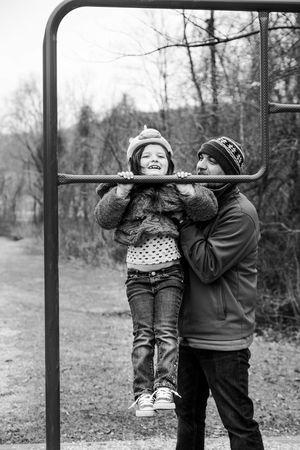 Pull ups take two. EyeEm Best Shots Tadaa Community Monochrome Eye4photography  Taking Photos Project 365 We Are Family EyeEm Best Edits Everyday Joy Modern Father