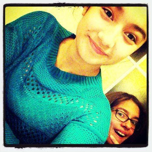 With Samantha
