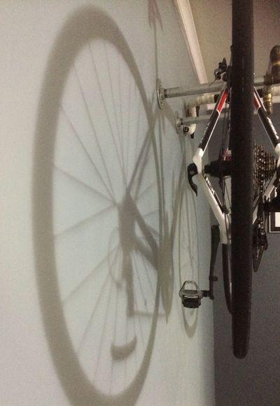 Reflection Finished Happy Bike Renovation I loved helping