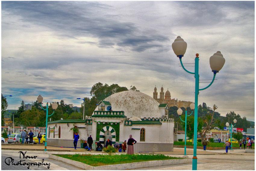 Travel Destinations Architecture Cloud - Sky City Annaba Algeria