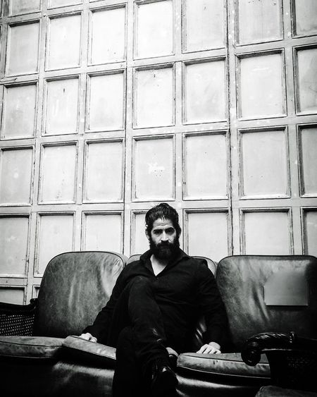 Man sitting in a room