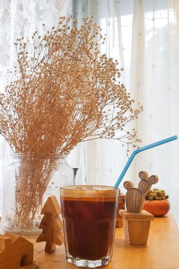 Cool coffee in