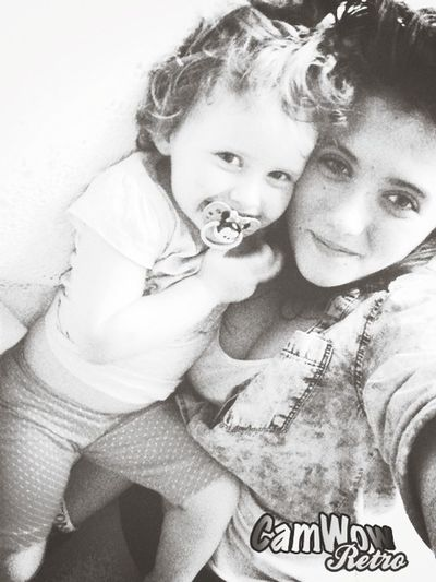 Me and my baby sister