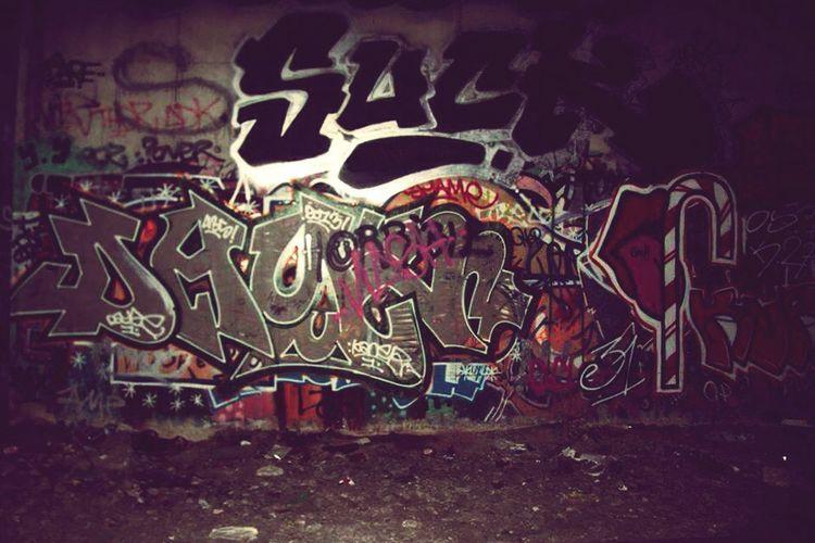 Paris La Petite Ceinture Grafiti