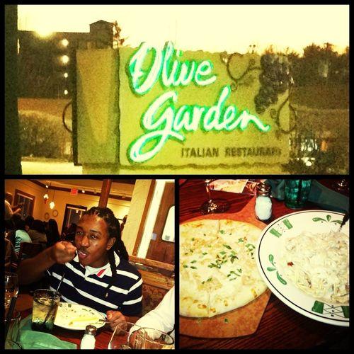 Grubbing At Olive Garden