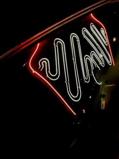 Reflections Neon Sign Cinema Bio Rio Hornstull Bergsunds Strand